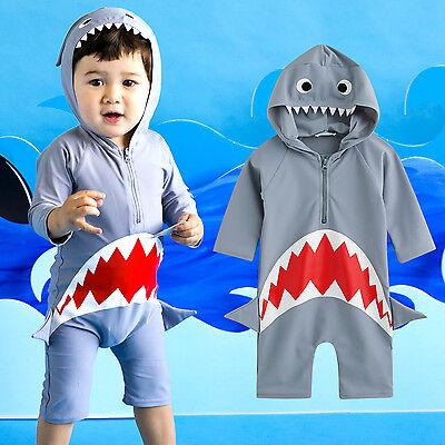 "NWT Vaenait Baby Toddler Boys Swimwear Cap Bathing Suit ""Bab"