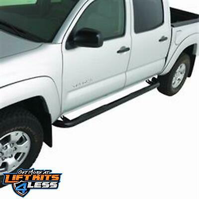 "Smittybilt TN1270-S4B 3"" Black Sure Step Side Bars for 2009-2014 Toyota Hilux"