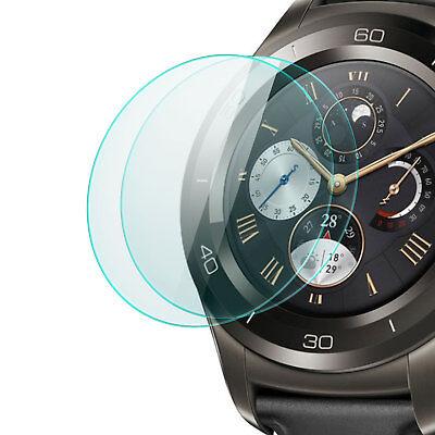 2x Display Schutz Glas für Huawei Watch 2 2017 - Folie Schutzpanzer Glasfolie
