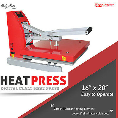Siser Digital Clam Heat Press 16x20 Free Shipping