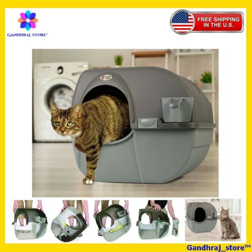 Omega Paw Self Cleaning Automatic Cat Litter Box Large Roll
