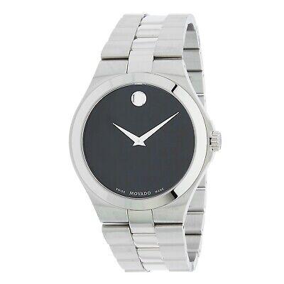 Movado 0606555 Men's Serio Black Quartz Watch