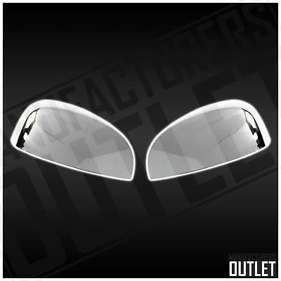 07-13 Chevy Avalanche Suburban Tahoe Chrome Side Rear View Top Mirror Cover