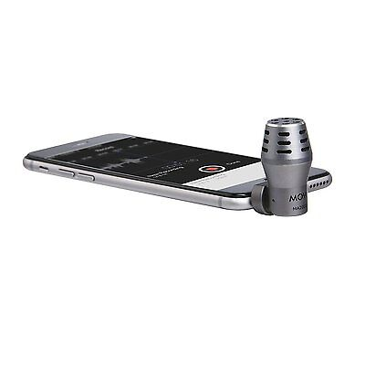Movo MA200 Omnidirectional Calibrated TRRS Condensor Microphone for Smartphones