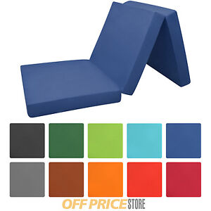 klappmatratze 195 x 80 x 10 cm reisematratze faltmatratze g stematratze notbett ebay. Black Bedroom Furniture Sets. Home Design Ideas