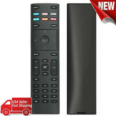 New XRT136 for Vizio Smart TV Remote Control w Vudu Amazon iheart Netflix 6 Keys