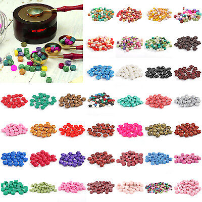 30/100pcs Vintage Sealing Wax Beads For Retro Seal Stamp Wedding Envelope Grains