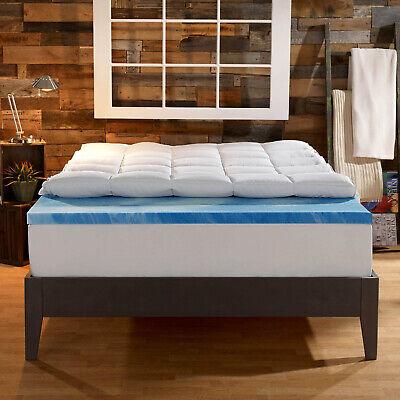 Sleep Innovations Gel Memory Foam 4-inch Dual Layer Mattress
