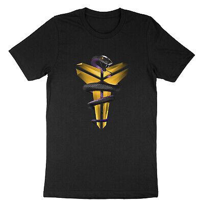 Black Mamba Snake Los Angeles Kobe Bryant Lakers Unisex T-Shirt Solid Unisex T-shirt