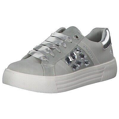 Dockers Damen Sneakers Turnschuhe Freizeitschuhe 42bm218-610550 Silber Neu