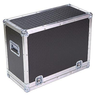 """Diamond Plate Lite Duty 1/4"""" ATA Case for Fender Vintage Reissue 59 Bassman Amp"""