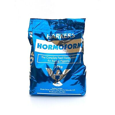 Harkers Hormoform Complete Feed Supplement Support for Racing Pigeons | 2.5kg
