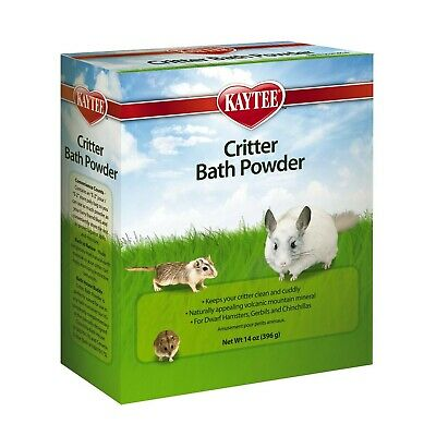 Kaytee Critter Bath Powder for Pets Small Animal Health Supplies 100079171