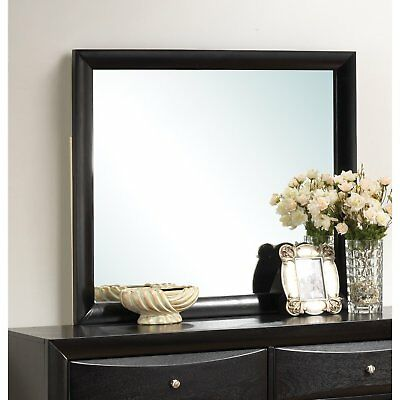 $97.63 - Coaster Home Furnishings 200704 Casual Contemporary Mirror Black