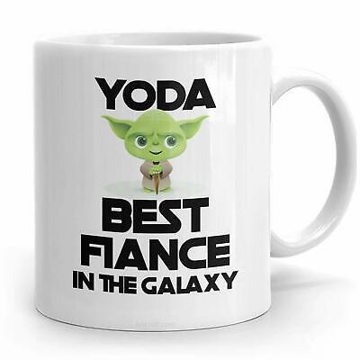 Yoda Best Fiance Gift for Fiance Mug Funny Fathers Day Gifts for Fiance (Best Birthday Gift For Fiance)