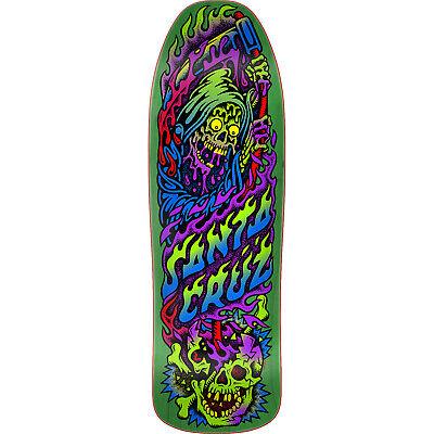 "Santa Cruz Skateboards Death Party Preissue Skateboard Deck - 9.35"" x 31.7"""