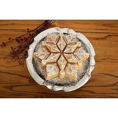 NEW NORDIC WARE PULL APART FROZEN SNOWFLAKE BUNDT CAKE PAN JELLO MOLD CHRISTMAS (Frozen Cake Mold)