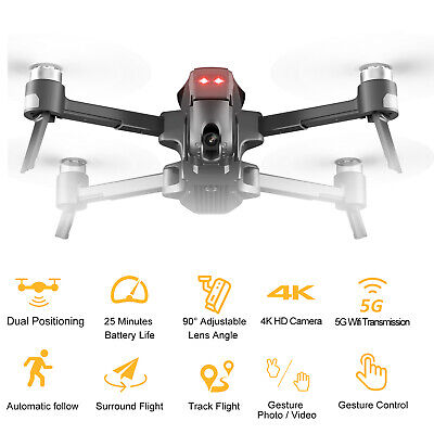 Mark300 Brushless GPS Drone with Wide-Angle Camera 4K 5G WIFI FPV RC Quadcopter