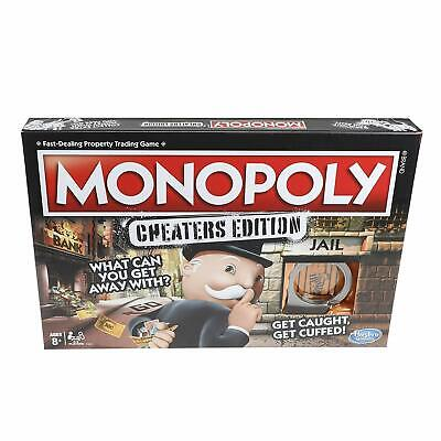 Monopoly Cheaters Edition Board Game Family Fun Night Twist Party Toy Complete](Games Fun Games)