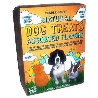 - Trader Joe's Natural Dog Treats, Assorted Flavors (24 Oz)