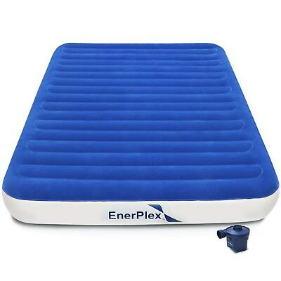 EnerPlex Never-Leak Queen Size Air Mattress Best Airbed for Home and Camping