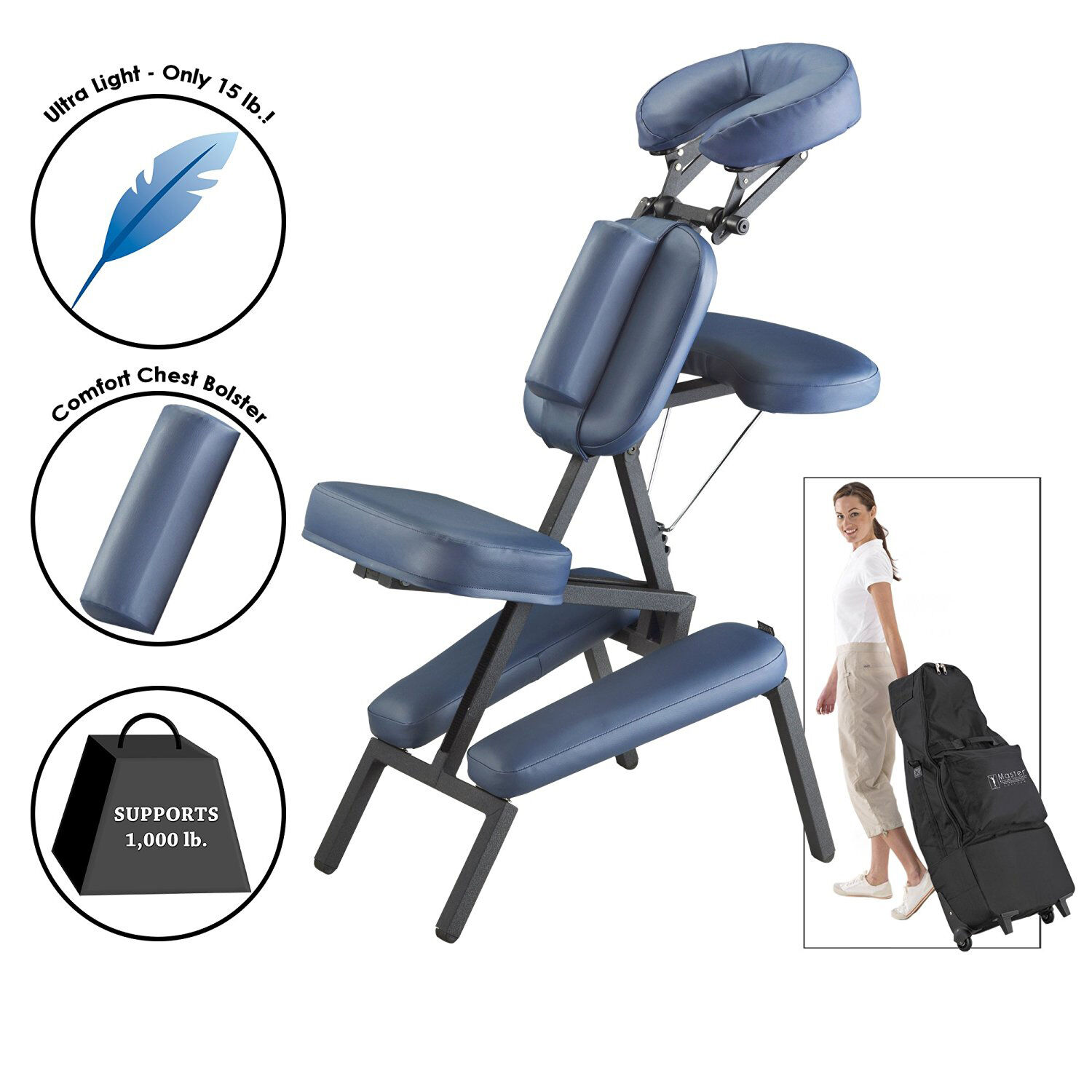 Portable Massage Chair Light Weight Professional Therapy