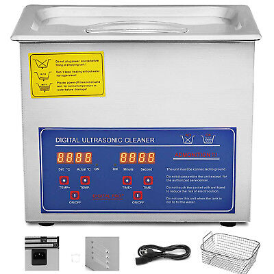 3l Industry Ultrasonic Cleaners Cleaning Equipment Heater Wtimer Updated