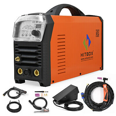 Hitbox Acdc Aluminum Welder 240v Hf Mma Stick Lift Tig Digital Welding Machine