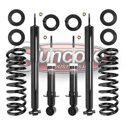 03-11 Lincoln Town Car Limo Rear Air to Coil Spring Conversion Kit with Shocks