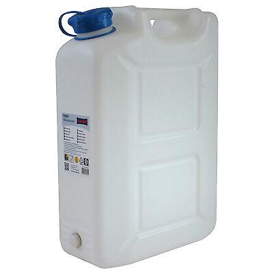 Wasserkanister PROFI 20 Liter mit Hahn NEU Trinkwasser-Kanister PRO 20L 20 L