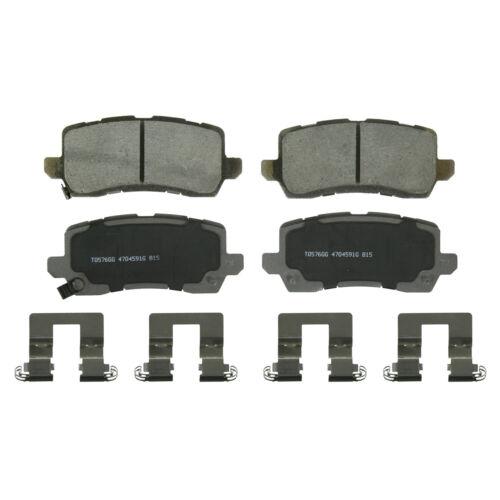 Disc Brake Pad Set Fits 2014-2019 Acura RLX TLX WAGNER