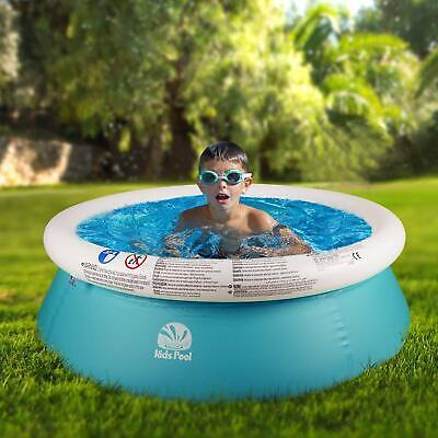 SIMREX Round Above Ground Easy Set Swimming Kids Pool