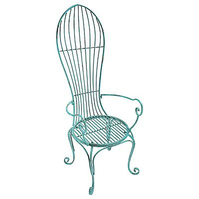 FU68887 - Balloon Back Metal Garden Arm Chair - Single Chair - New! for sale  Shipping to Canada