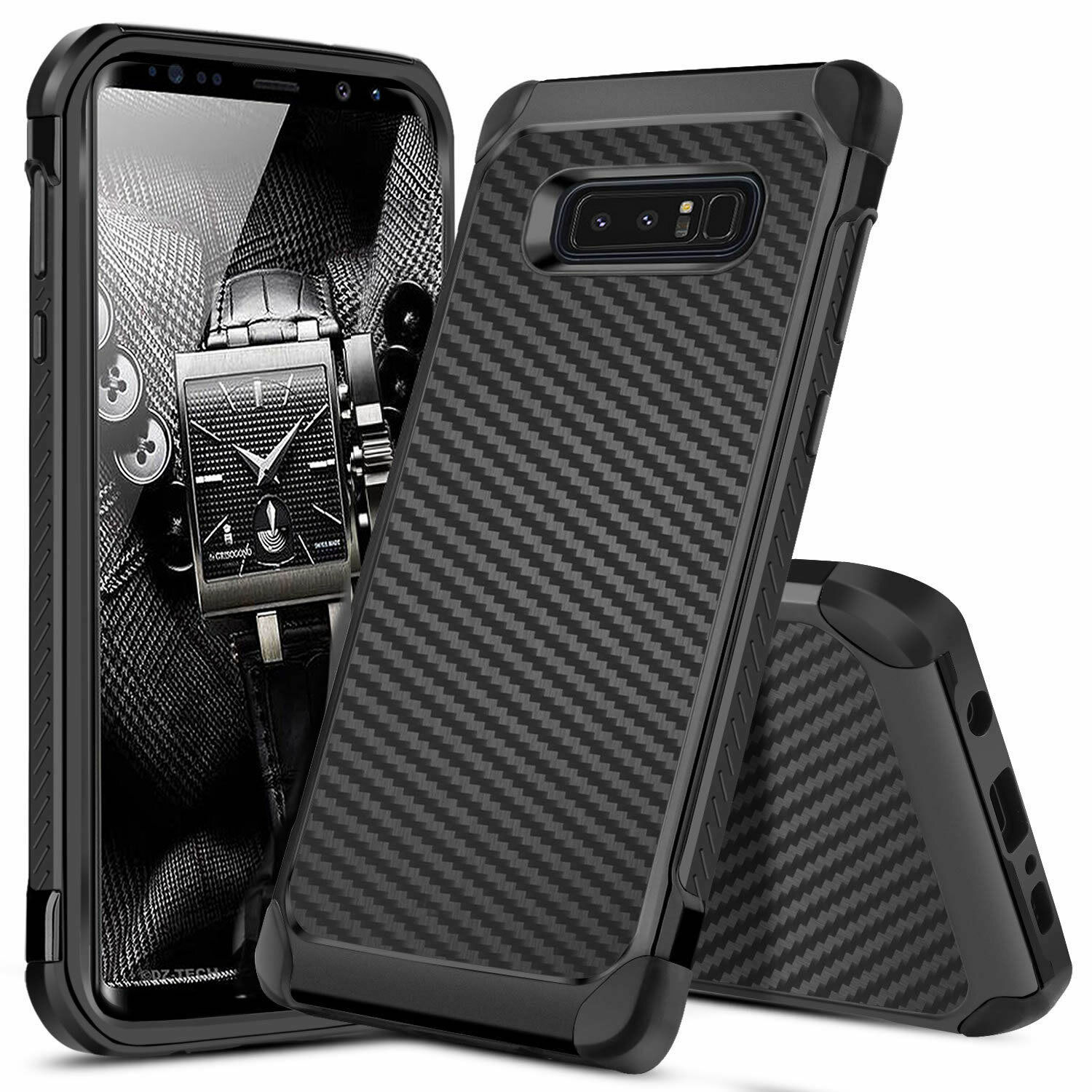 for-samsung-galaxy-note-8-phone-case-cover-shockproof-hybrid-carbon-fiber-armor