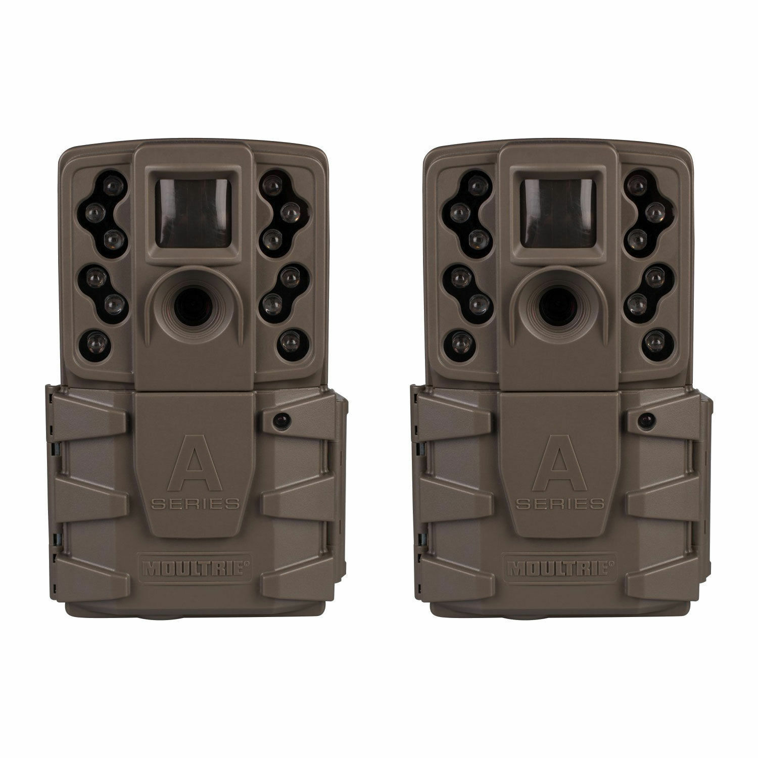 51bd46fb7d9 Details about (2 Pack) New Moultrie A-25 A25 Infrared IR 12MP Game Trail  Stealth Camera Cam