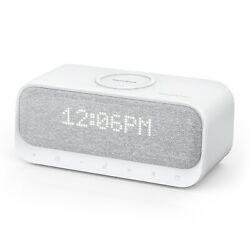 Anker Soundcore Bluetooth Speaker Alarm Clock Stereo FM Radio Wireless Charger