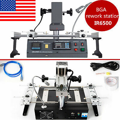 Ir6500 Ir Bga Rework Station Soldering System Infrared Reball Machine Pc Repair