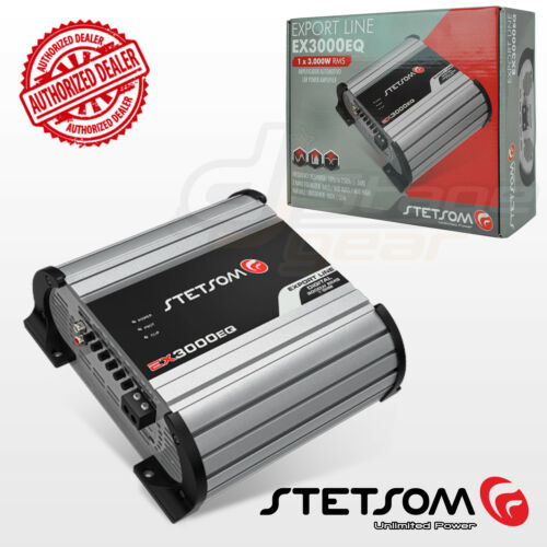 Stetsom Amplifier EX3000 EQ - 3600 Watts RMS 2 ohms Digital
