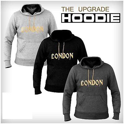London Fleece Hoodies Top Hooded Sweat Shirt Gym Clothing Running multi purpose Fleece Running Sweatshirt