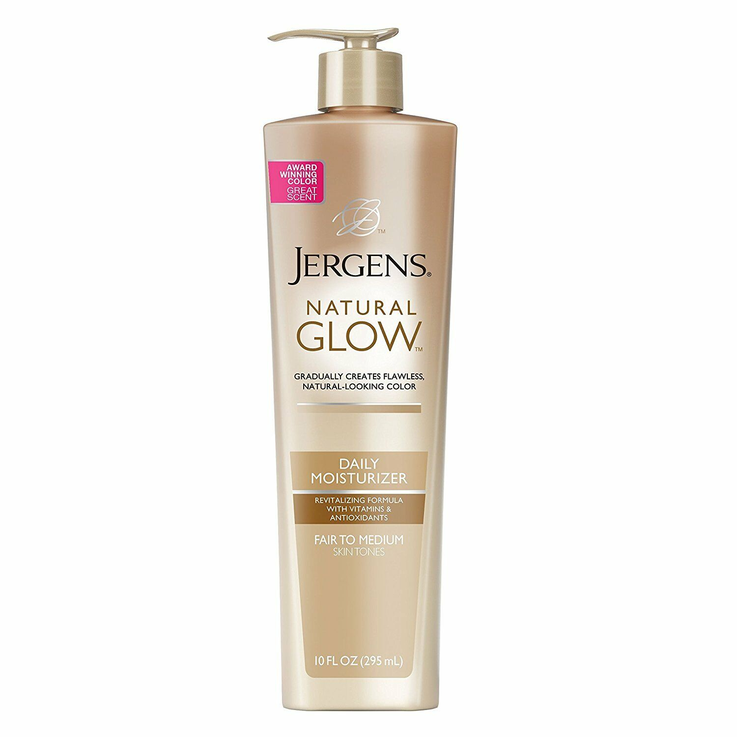 Jergens Natural Glow Daily Moisturizer for Body, Fair to Med