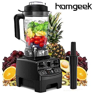 Homgeek 1450W High Speed Blender For Kitchen Shakes Smoothies BPA Free 68oz V8X4
