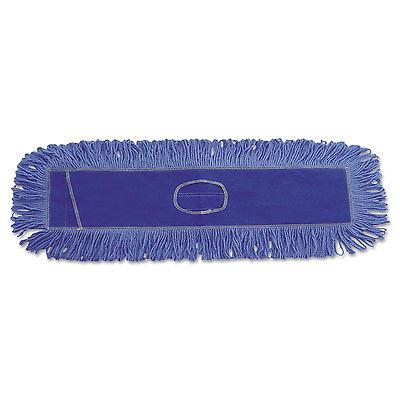 Boardwalk Dust Mop Head Cotton/Synthetic Blend 36 x 5 Looped-End Blue 1136