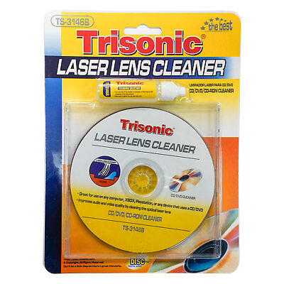 Trisonic Laser Lens Cleaner for DVD/CD Players - TS-3146B