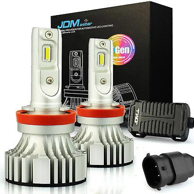 JDM ASTAR 8000LM 60W H11 Headlight High/Low Beam Fog Light Cornering Bulbs White