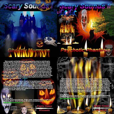 Scary Sounds I & II (2 Halloween Horror Sound Effects CD's - 2013) - Halloween Horror Sounds Effects