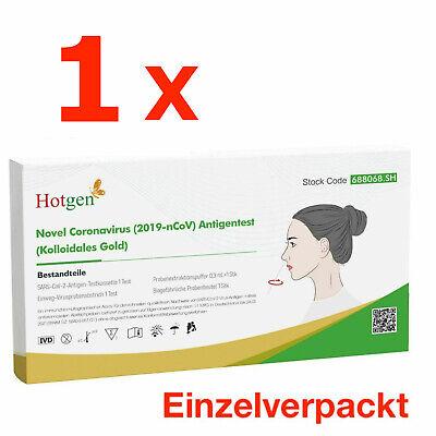 Corona Schnelltest Laien Test Covid19 Antigen Sars Antikörper - von HOTGEN®
