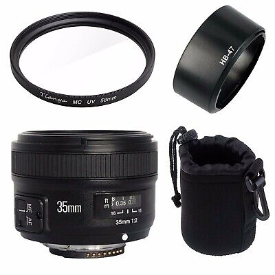 Yongnuo YN35mm F2 Wide-angle Large Aperture Fixed Auto Focus Lens for Nikon DSLR