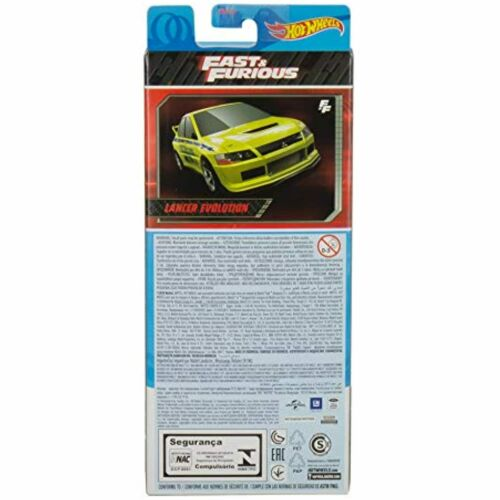 Hot Wheels Fast and Furious 5Pk 6