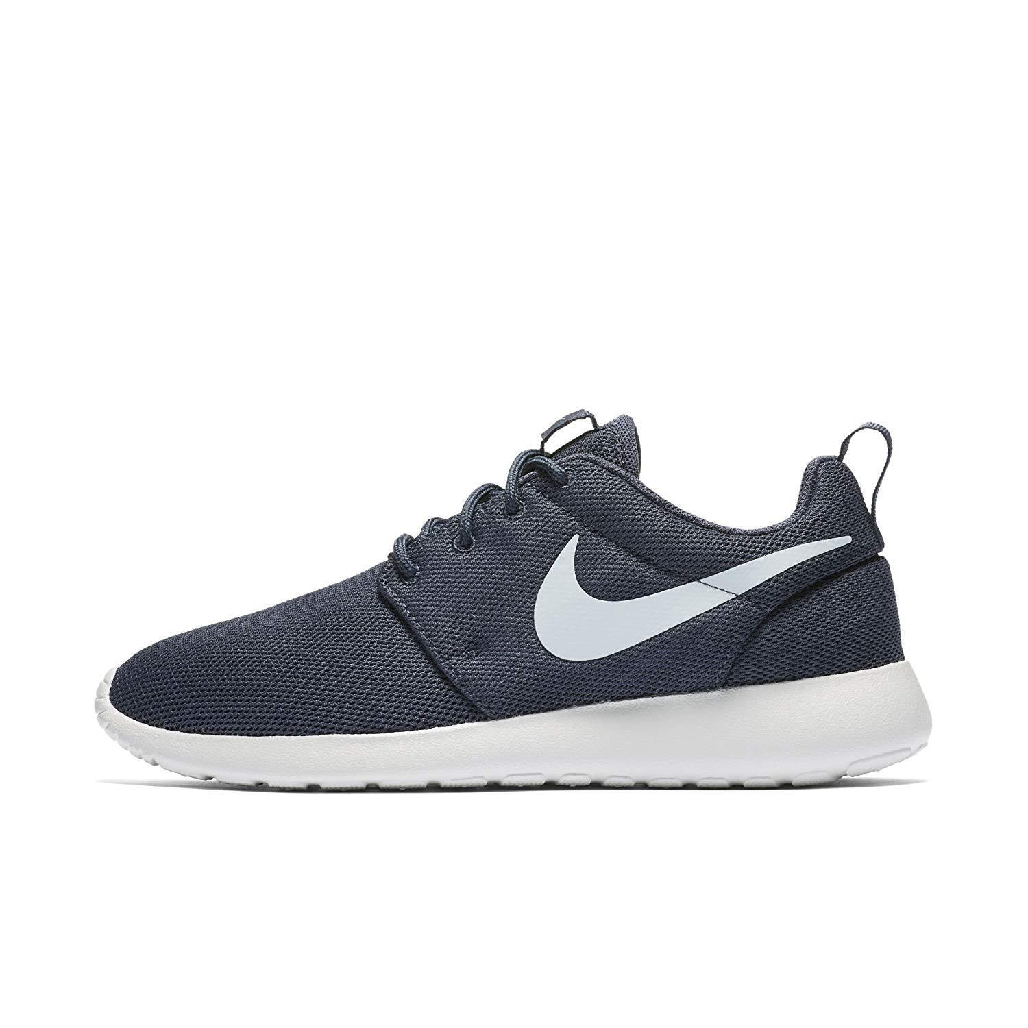 NEW Women's Nike Roshe One Shoes Thunder Blue White Trainers Free 844994-404