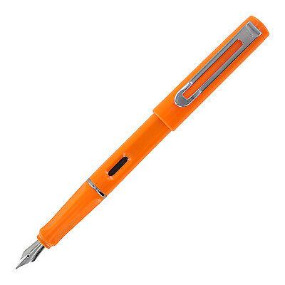 Jinhao 599a Plastic Fountain Pen Medium Nib - Orange
